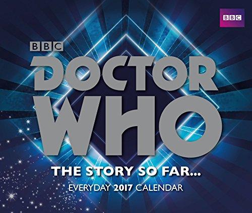Doctor Who - Official 2017 Desk Block Calendar