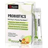 Probiotics for Women-Men-Kids Probiotic Powder Supplement - Prebiotics and Probiotics for Gut Health, Digestive and Immune Support, 50 Billion CFUs Shelf Stable, Non-GMO, Gluten Free 30 Bags