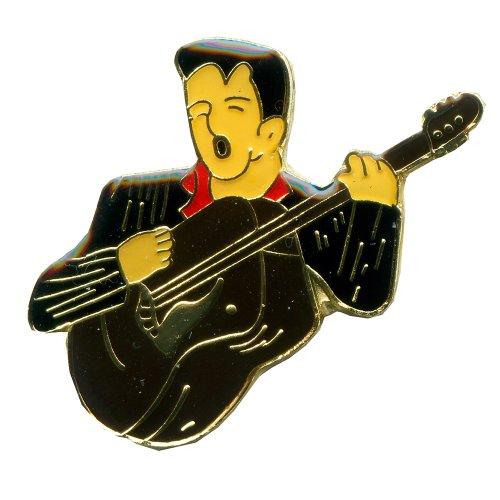 hegibaer Elvis Presley Film Kino Musik Fan USA Metall Button Badge Pin Anstecker 0058