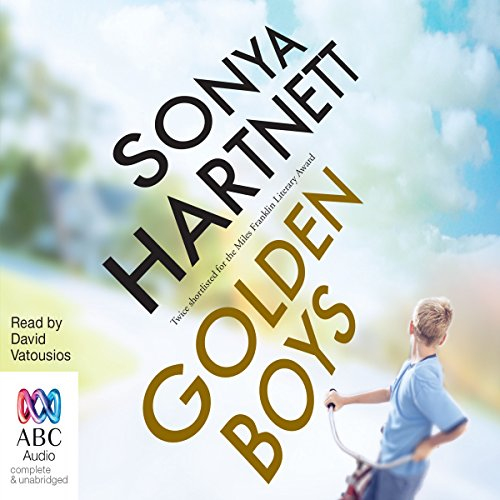 Golden Boys audiobook cover art