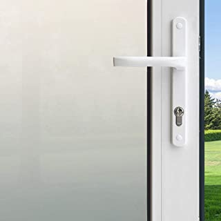 Homeway Vinilo para Ventana Privacidad,Pegatinas Decorativasde Ventana,Autoadhesiva con Electricida Estática (46_x_200_cm)