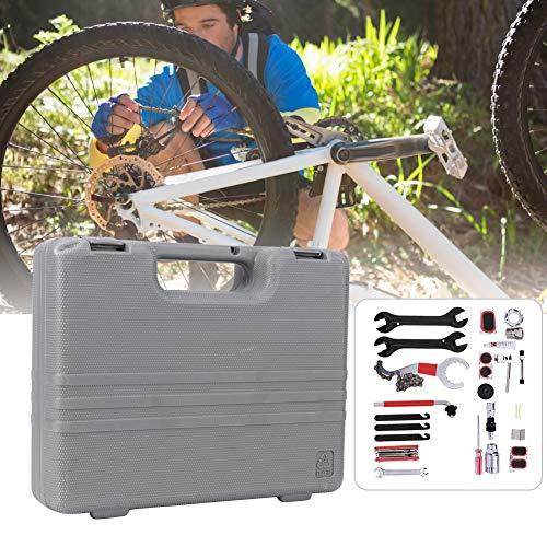 Dioche - Maletín de herramientas para reparación de bicicletas de casa, 26 herramientas profesionales con maletín de transporte, herramientas de reparación de motocicletas y bicicletas eléctricas