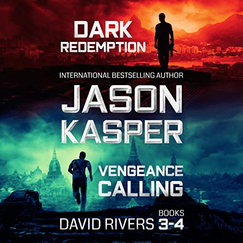 David Rivers, Books 3-4: Dark Redemption & Vengeance Calling audiobook cover art