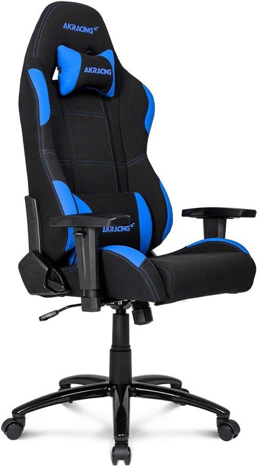 AKRACING EX - Silla (Negro, Azul, 5 rueda(s))