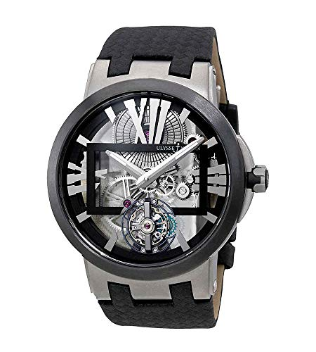 Ulysse Nardin Executive Skeleton Tourbillon Tourbillon Mens Watch 1713-139