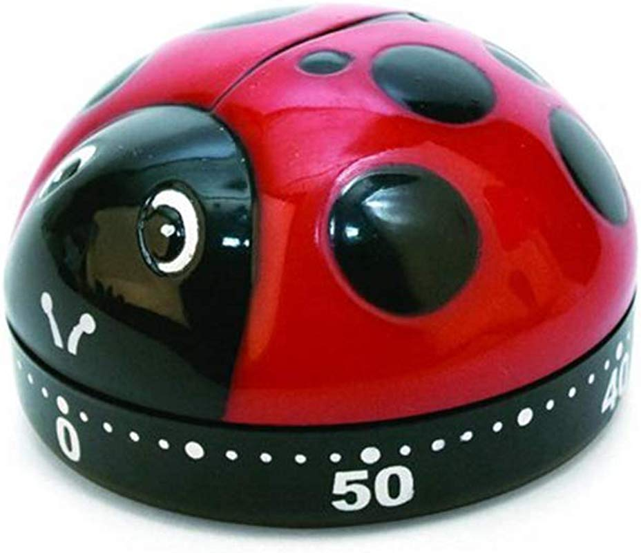 Digital Kitchen Timer Big Digits Loud Alarm Lady Bug Alarm Clock Decor Cooking Mechanical Minute Tool For Cooking Baking Sports Games Office Household Products Kitchen Tools And Accessories