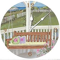 Lexington Studios Porch Swing Wall Clock