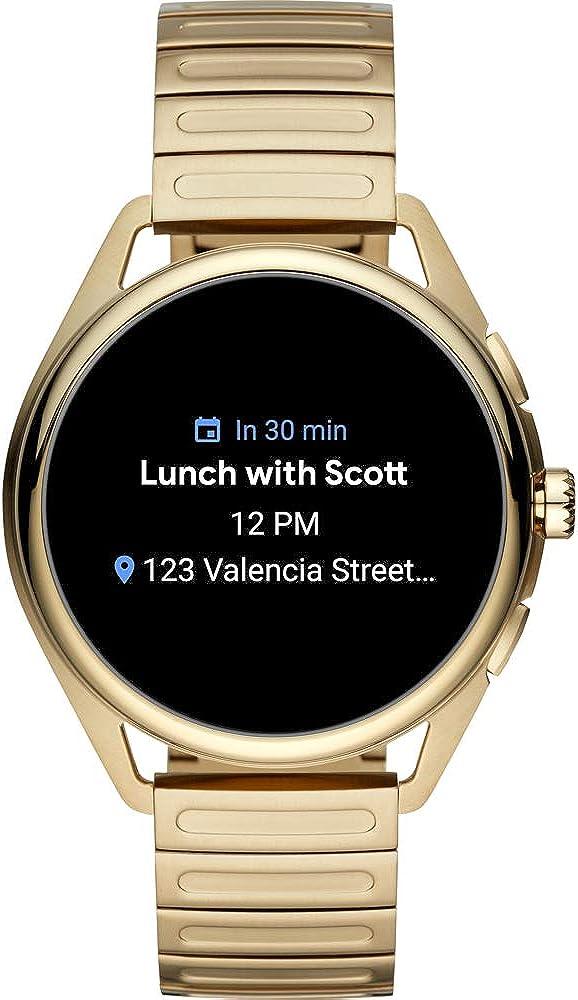 Emporio armani matteo gen 5 gold smartwatch ART5027