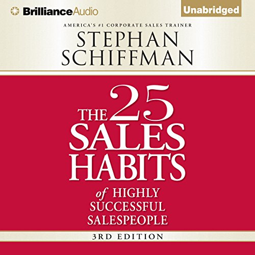 The 25 Sales Habits of Highly Successful Salespeople audiobook cover art