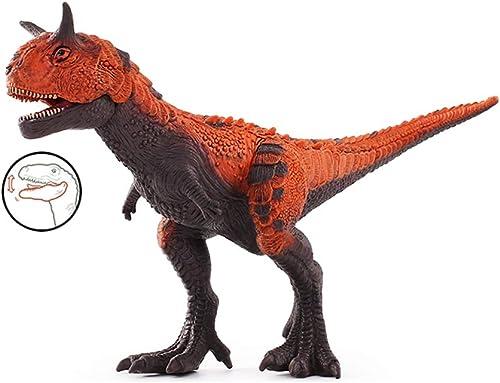 Kaiyu Enfant Jouet Dinosaure Dinosaure en Plastique Modèle Simulation Jouet Animal Jouet Figurine Jurassique Pentagone Dragon Jouet (Taille   2)