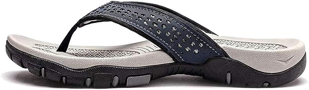 ChayChax Chanclas Hombre Sandalias Deportivo de Playa y Piscina Verano Zapatillas Flip Flops con Suela de Goma