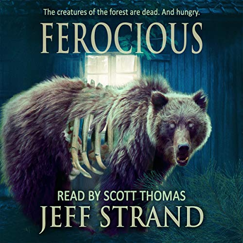 Ferocious audiobook cover art