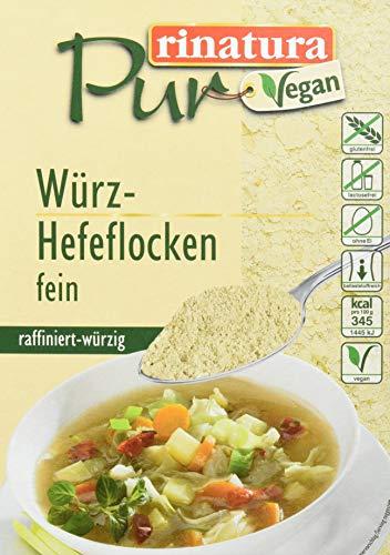 Rinatura Pur Würz-Hefeflocken, 12er Pack (12 x 125 g)