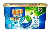 Wipp Express Detergente en Cápsulas - 30 Discos, 750 Gramos