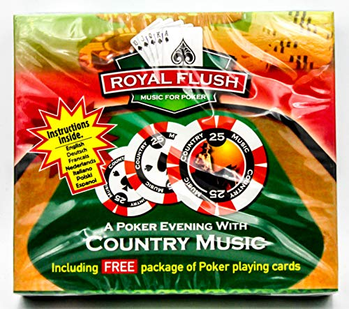 A Poker Evening With Country Music - CD & Pokerkarten