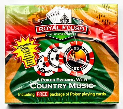 A Poker Evening With Country Music - CD & Pokerkarten