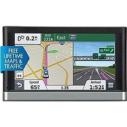 powerful Garmin Nuvi 2597LMT Portable 5inch Bluetooth Car GPS Navigator, Lifetime Map and Traffic…