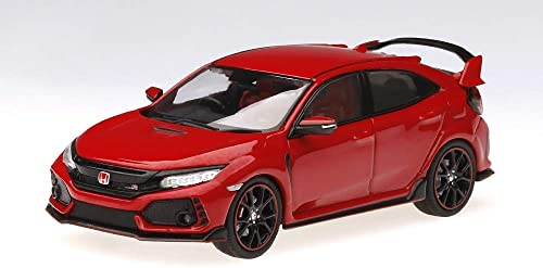 barato y de alta calidad True Scale Miniatures TSM430273 - Honda Civic Civic Civic Type R 2017 Rallye rojo RHD - Escala 1 43 - Vehículo en Miniatura  Más asequible