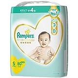 パンパース オムツ テープ はじめての肌へのいちばん S(4~8kg)80枚