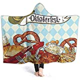 Henry Anthony 40X50 Zoll Mit Kapuze Decke Brot Brezel Karneval P Ying Kostüm Fröhlich F tival...