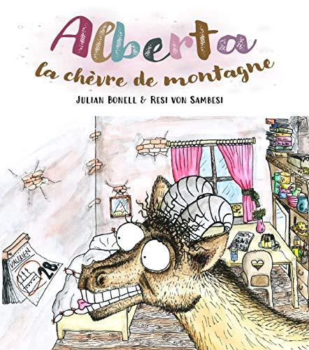 Alberta la chèvre de montagne: Juin 2020, ~20 pages - avec images en couleurs, 60# (100GSM) (French Edition)