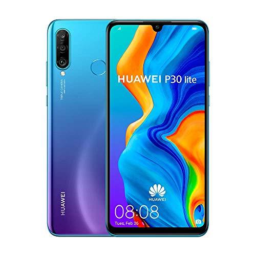 Huawei P30 Lite (Peacock Blue) ohne Simlock, ohne Branding, ohne Vertrag (Generalüberholt)