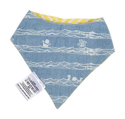 Sigikid Sigikid Baby-Jungen Wendehalstuch, Halstuch, Gelb (Yellow Cream 875), One Size (Herstellergröße: II)