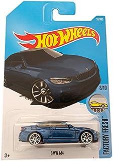 Hot Wheels BMW M4 Dark Blue - Factory Fresh 55/365 (long card)