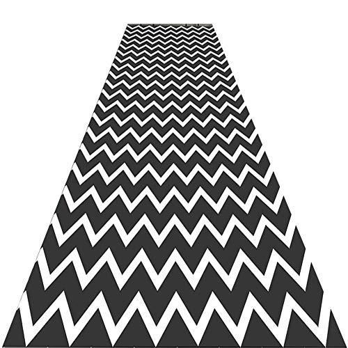 KXBYMX Halle Läufer Gangläufer/moderner Rutschfester Niederflorteppich/Flureingang schalldämmender Teppich/Wohnzimmergang Creme Teppich (Size : 120cm*2m)