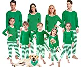 Matching Family Pajamas for Women Men Christmas Boys and Girls Red Striped Jammies Baby...