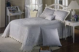 product image for Abigail Adams Matelasse Bedspread - Twin - Linen