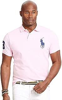 Mens Big & Tall Classic Fit Mesh Polo Shirt