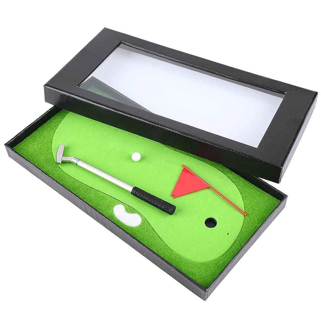 立法分解する指ゴルフペンセット ペン ゴルフボール 旗 ゴルフマット 文房具 景品 ギフト 面白い 記念品 ゴルフアクセサリー