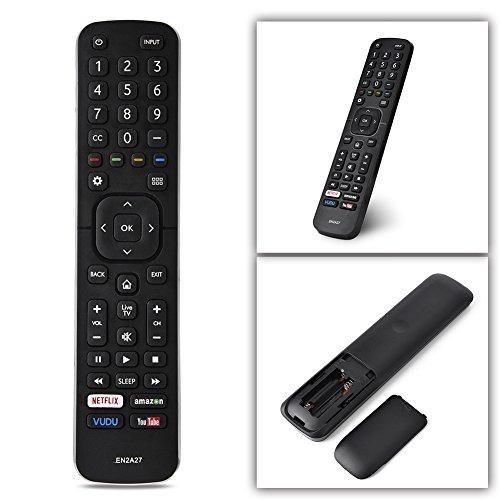 Telecomando Universale di Ricambio per Hisense, Smart TV Telecomando EN2A27 per Hisense TV