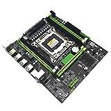 Rosymity X79H H91 B85 H81 LGA 2011 ATX Motherboard, Compatible with IntelX79H H91 B85 H81 LGA 2011 Motherboard Micro ATX 4 DDR3 1333 1600 1866 REG ECC RECC