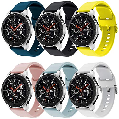 Syxinn Compatible para 22mm Correa de Reloj Galaxy Watch 46m