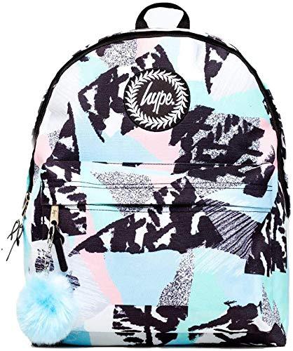 Hype Backpack Rucksack School Bag for Girls Boys | Pastel Abstract | Ideal Travel Day Shoulder Pack
