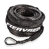 Synthetic Winch Rope 3/16' x 50' - 8200 Ibs Winch Line Cable Rope with...