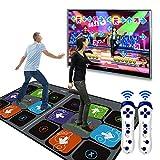 SHDT La Luz Encima del Juego Dance Mat, Bloc De La Danza del Paso, Arcade Estilo De Los Juegos De Baile Somatosensorial Gamepad TV Video Juegos Yoga para Mantenerse En Forma Partido Casero (Chino)