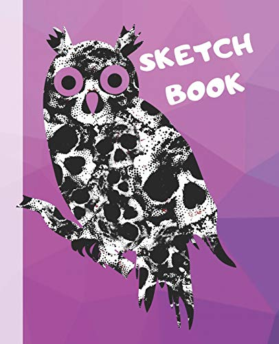 Sketch Book: Spooky Skull Blank Gift Journal for Sketching Coloring or Writing (Kid's Halloween Scribble Doodle Zone)