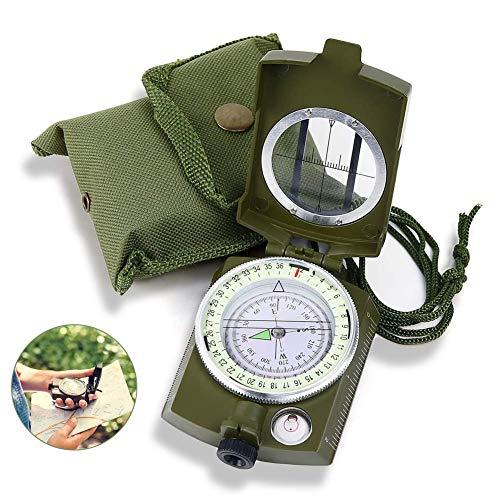 Kompass,Kompass Outdoor,Wanderkompass,Marschkompass,Professioneller Taschenkompass Kompass wandern Wasserdicht Wandern Compass mit Tragschlaufe Taschenkompass für Jagd Wandern,Aktivitäten Camping