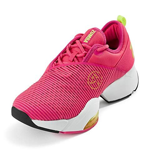 Zumba Athletic Air Classic Gym Fitness Sneakers Dance Workout Shoes for Women, Scarpe da Ginnastica Donna, Stomp It Rosa, 38 EU