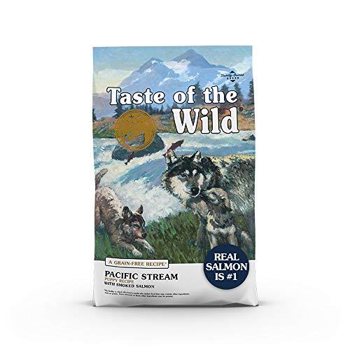 Taste of The Wild Grain Free Premium High Protein Dry Dog Food Pacific Stream Puppy - Smoked Salmon