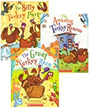 Thanksgiving Turkey Trio:  The Great Turkey Race, The Amazing Turkey Rescue, and The Silly Turkey Party