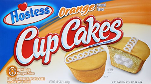Hostess Orange Cupcakes Multipack, 8Count