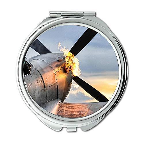 Yanteng Weltkrieg Flugzeuge, Spiegel, Schminkspiegel, Kämpfer d20pfsrd, Taschenspiegel, Portable Spiegel