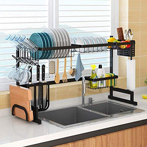 ICEGO Dish Drying Rack Over Sink (