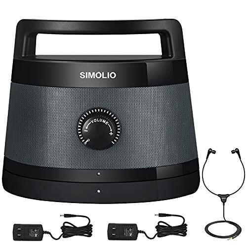 Simolio 2.4G Wireless TV Speakers System