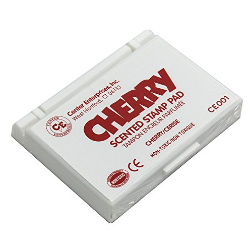 CENTER ENTERPRISES INC. STAMP PAD SCENTED CHERRY RED (Set of 3)
