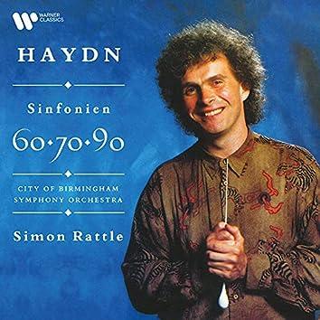"""Haydn: Sinfonien Nos. 60 """"Il distratto"""", 70 & 90"""